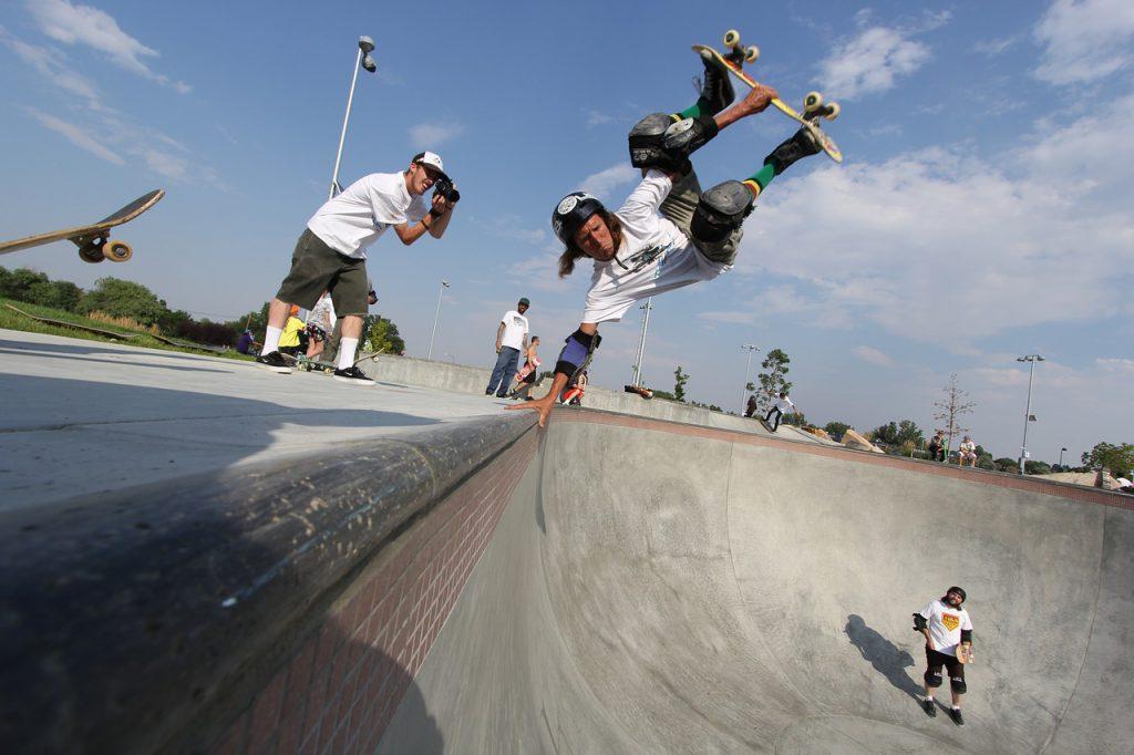 スケーターの写真