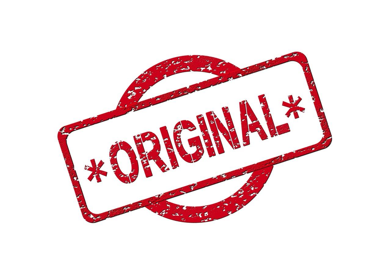オリジナルの文字(ORIGINAL)