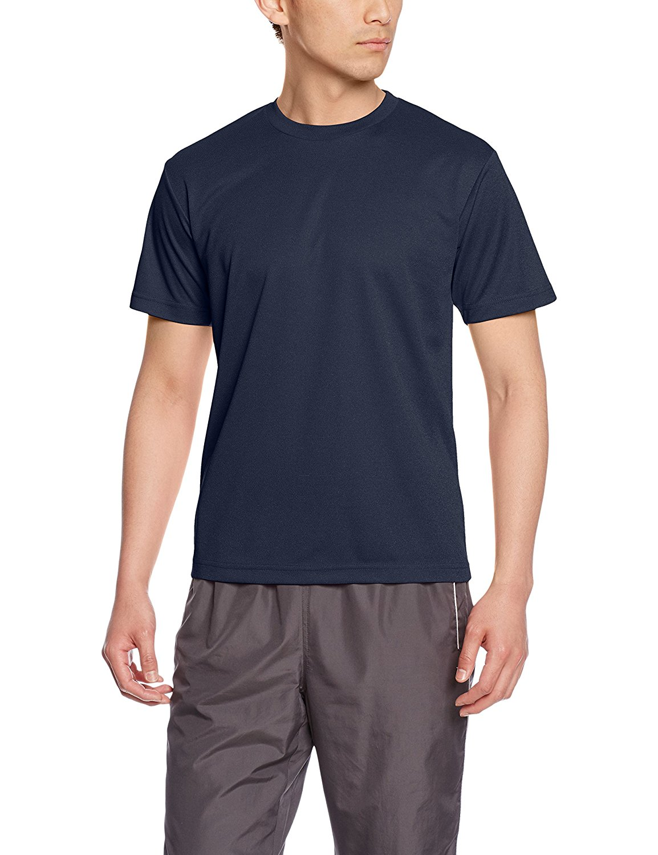 Amazon「[グリマー]半袖 4.4オンス ドライ Tシャツ [クルーネック] 00300-ACT [メンズ]」